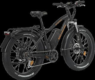 elcykel med feta däck